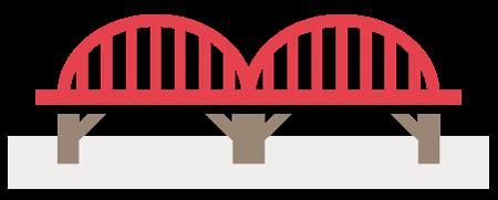 橋(工作物)の所有のための地上権の設定